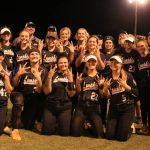 Indian Softball In Sweet 16 Playoff Double Header