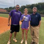 Lumpkin County Softball Lady Indians Farm Bureau Player of Week 10 Brooke Temples