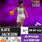 Blitz Player Of The Week Kate Jackson