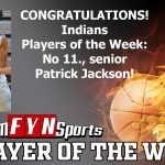 TeamFYNSports Player of the Week Patrick Jackson