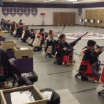 Rifle Team Doing Well Against 7A School