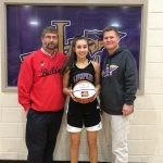 Farm Bureau Lady Indians Player of the Week Isabel Davenport