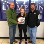 Farm Bureau Lady Indians Player of the Week Lexi Pierce
