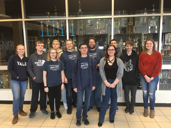 Academic Team Advances To State