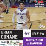 Blitz Sports Named BRIAN CUNANE (FAN VOTE) One Of Four Players of the Week