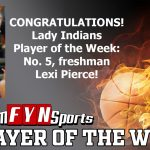 Team FYNSports Has Named Lexi Pierce Player of the Week