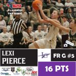 Lexi Pierce took the Fan Vote for Player of the Week At Blitz Sports
