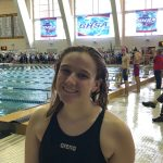 Senior Faith Schofield Competes At State Swim Tournament