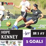 Jefferson's Jackson, Lumpkin's Kenney Named Blitz Sports Soccer Players of the Week