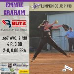 Blitz Sports Picks Emmie Graham For Player Of The Week