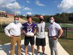 Lumpkin County Farm Bureau Player of the Game Caleb Norrell
