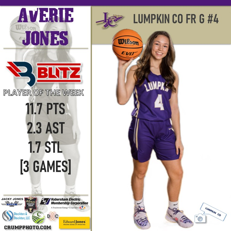 Blitz Sports Names Lumpkin County Jones And Dawson County Anglin Players Of The Week
