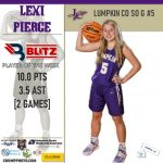 Blitz Sports Announces Lumpkin's Pierce, Banks' Reeves Earn Player Of The Week