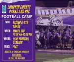 2021 Lumpkin County Youth Football Camp