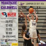 Blitz Sports: Lumpkin' Caldwell and Towns' McTaggart Tabbed Players Of The Week