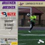 Blitz Sports Boys Soccer Co-Players Of The Week Boegner And Gensler