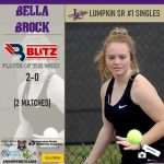 Lumpkin Counties Bella Brock Named Co-Player Of The Week