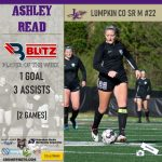 Blitz Sports Named Read, Ramey As Soccer Players Of The Week