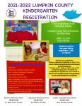 2021-2022 Lumpkin County Kindergarten Registration
