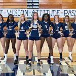 Girls Varsity Volleyball beats Oakdale 1 – 3