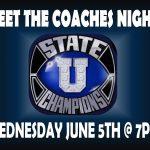 Meet the Coaches Night