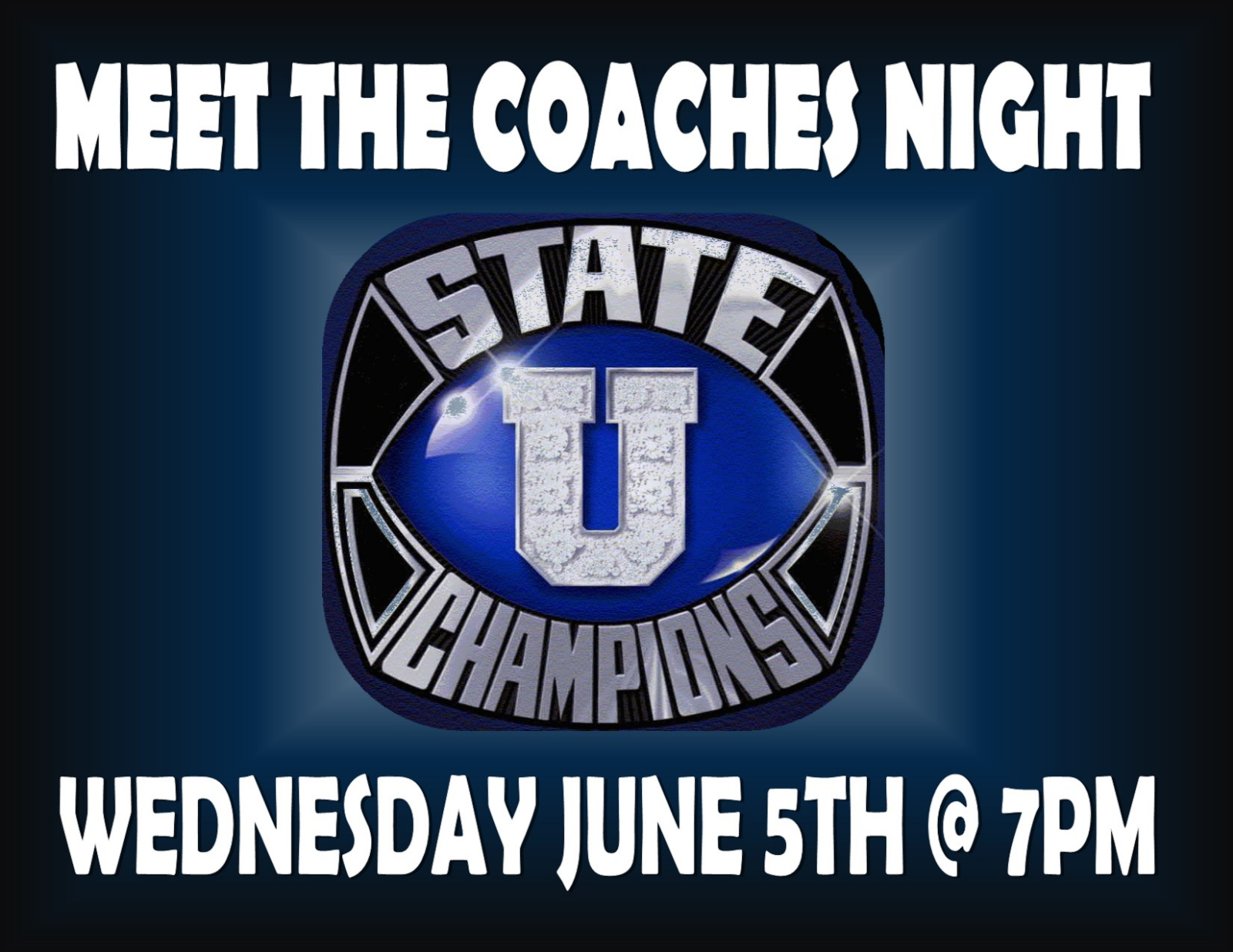 Meet the Coaches Night