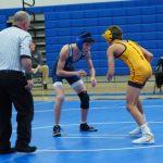 Hawks Wrestling fall just short to South Carroll 40 – 39