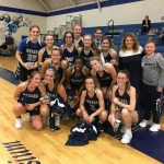 Hawks Girls Varsity Basketball clip Freedom Eagle's wings 58 – 23