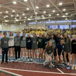 Girls Indoor Track & Field blow by the field at Western Maryland Winter Classic