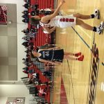 Girls Varsity B-ball lose to rival Linganore, 46-32