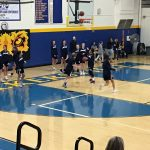 JV Girls Basketball tighten up the defense, win at the end, 21-20 over Linganore