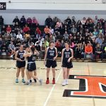 Girls Varsity Basketball succumbs to Middletown 69 – 48