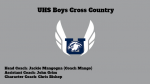 Boys Cross Country Informational Slide Show