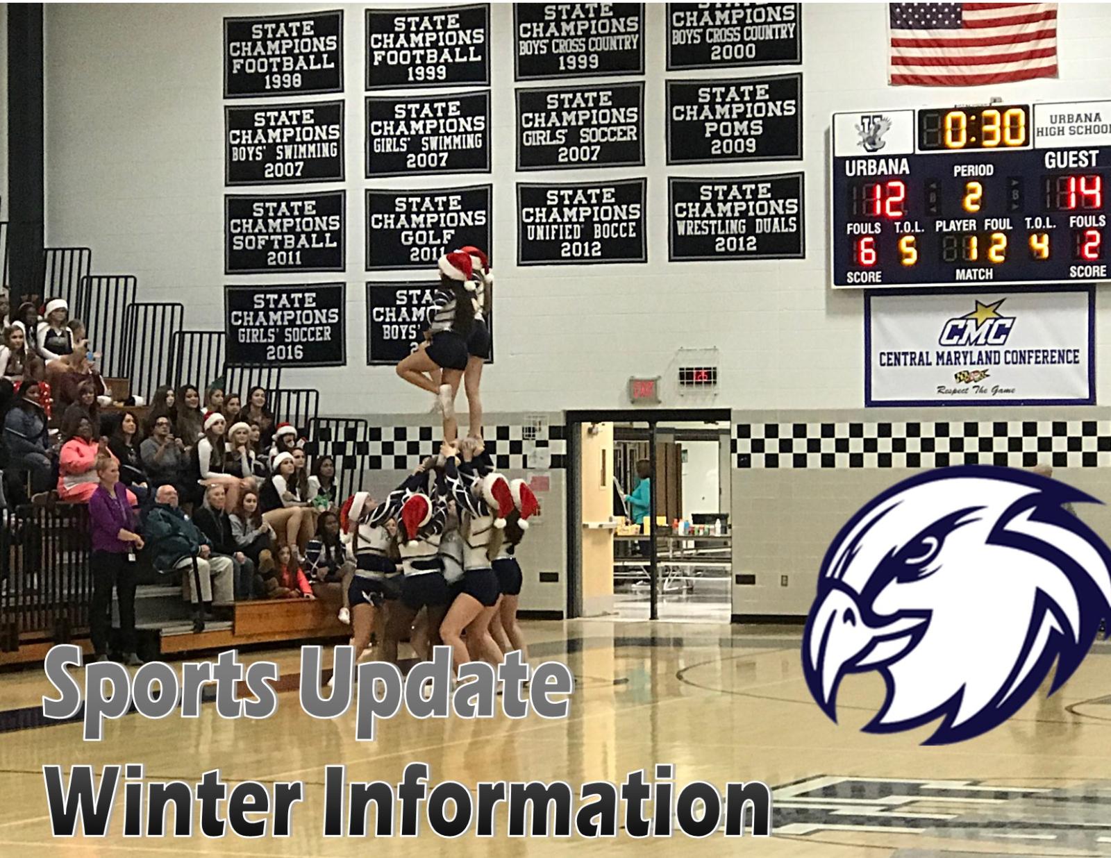 Winter Sports Update