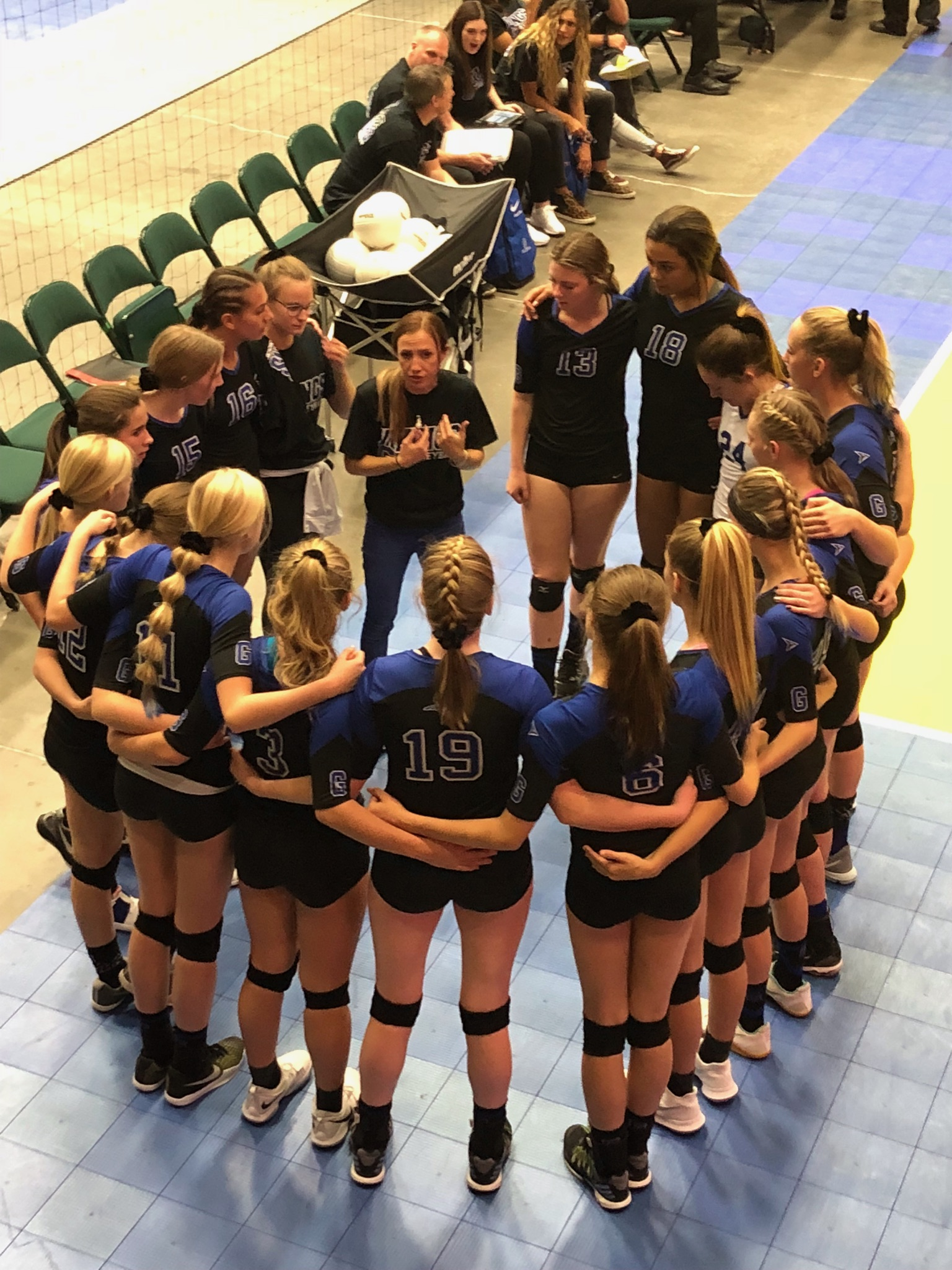 Volleyball places 2nd in state