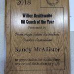 Congratulations Coach McAllister