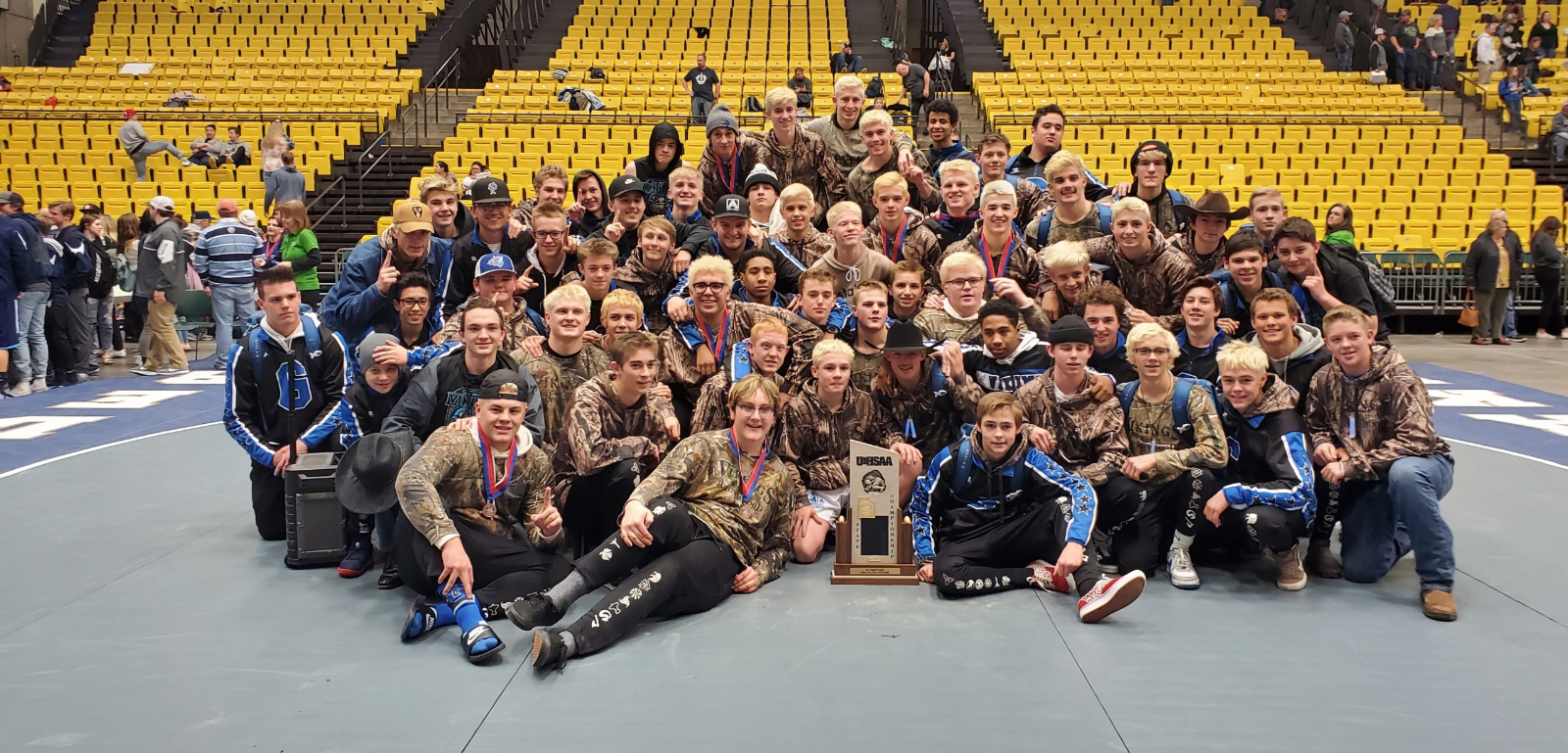 6A State Wrestling Champions 2020