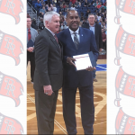 Coach Bacon Honored at Basketball State Championships