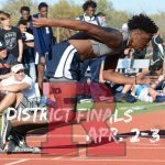 Rebel Track and Field Shines at District!