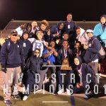 JV Boys win 2018 District 8-5A JV Track & Field Championship
