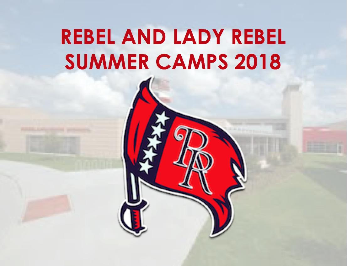 Richland Rebel Summer Camps 2018