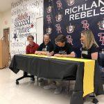Pitcher Drew Henderson Signs with Cameron University