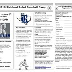 2018 Rebel Baseball Camp Singups
