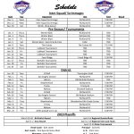 2018-2019 Lady Rebel Soccer Schedules Released