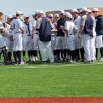 Varsity Baseball falls to Denton 8 – 5