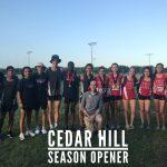 XC Results: Cedar Hill Season Opener (Varsity)