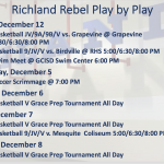 Richland Rebel Play by Play