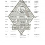 2018-2019 Boys and Girls Wrestling Schedule