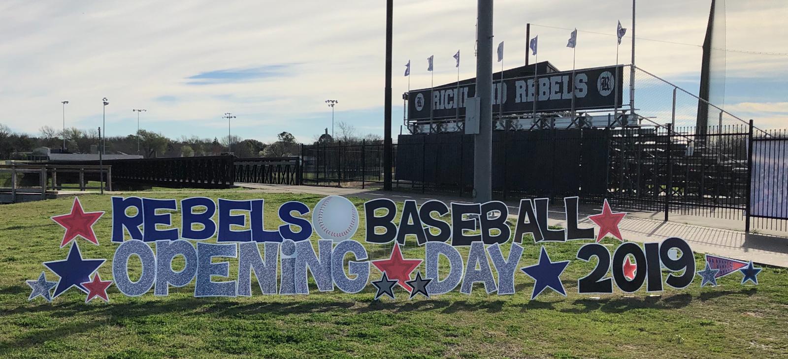 Rebel Baseball racks up the wins today!
