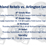Richland vs. Arlington Lamar